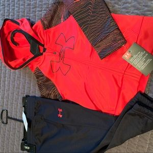 New 12mos Under Armour track suit